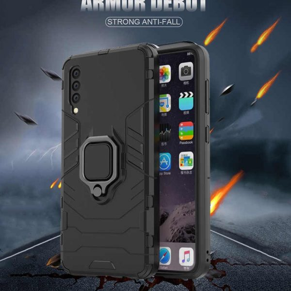 Shockproof bumper armor phone case - For Samsung