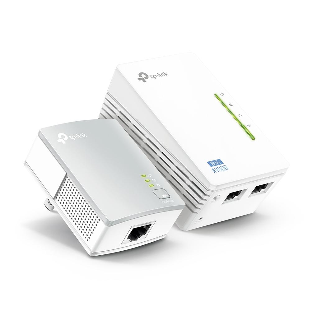 300Mbps Wi-Fi Range Extender, AV600 Powerline
