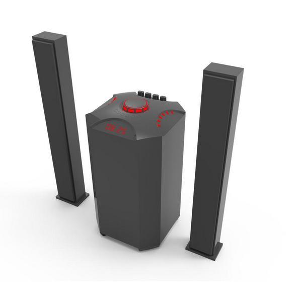JTC Speaker -J801 Plus 2.1 Channel