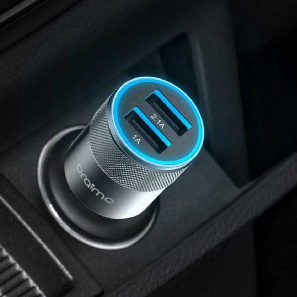 Car charger Oraimo OCC-31D Black